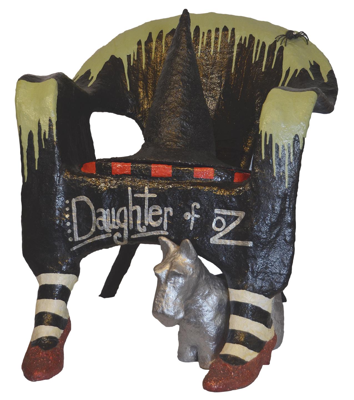 Daughter of Oz_Rmay Rivard_mixed media chair (3)