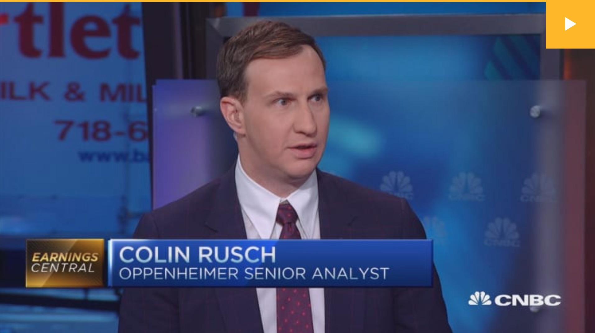 CRusch on CNBC
